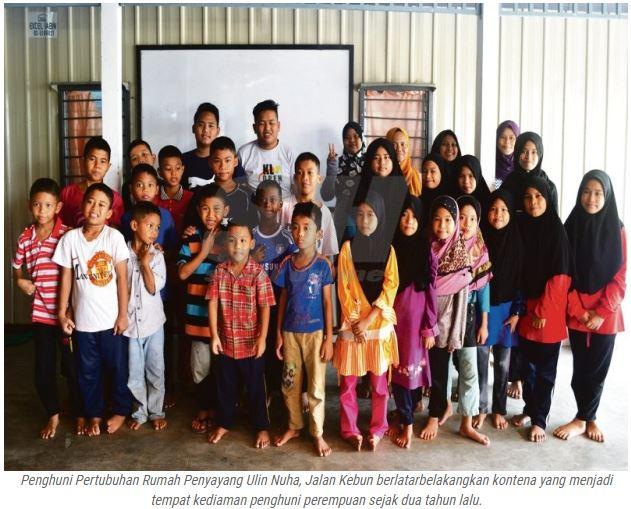 Portal Rasmi Pdt Klang Kontena Jadi Asrama Anak Yatim